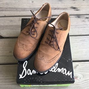 Sam Edelman Suede Womens Oxford Shoe